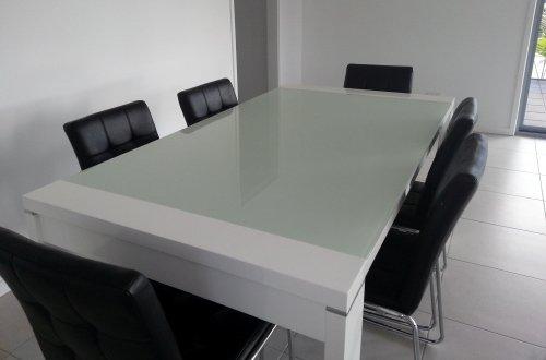 Elite Glass - Table Tops - Sunshine Coast